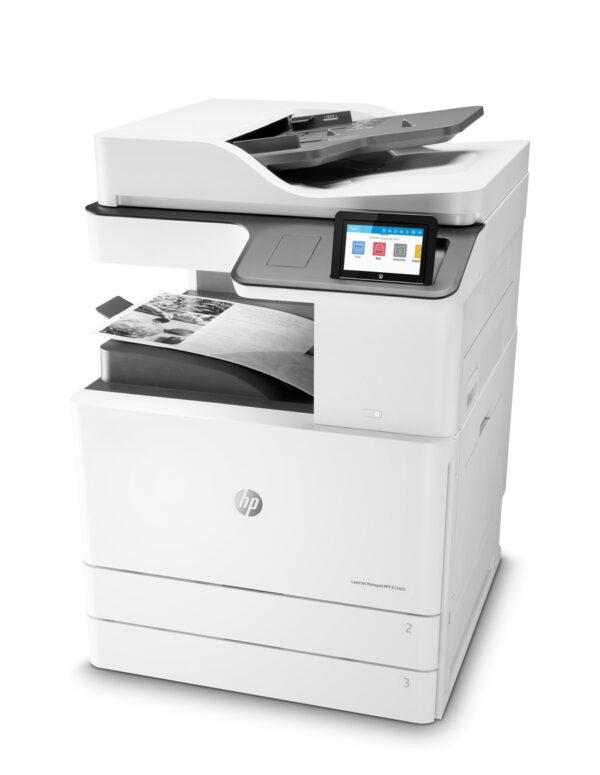 IImpresora multifunción HP LaserJet Managed E72425dv
