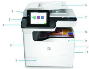 HP PageWide Managed Color P77940dn